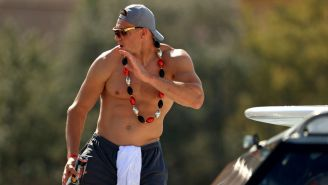 Rob Gronkowski Was The Life Of The Party During Tampa Bay's Super Bowl Boat Parade