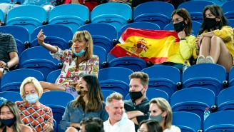 Wasted Fan Booted From Australian Open For Flipping Off Nadal Makes Me Miss Live Sports So Much