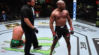 Kamaru Usman Knocks Out Gilbert Burns At UFC 258 And Immediately Calls Out Jorge Masvidal