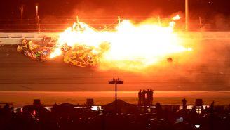An Insane Last-Lap Crash Gave Michael McDowell The Daytona 500 Win Amidst Fire, Major Wreckage