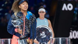 Naomi Osaka's Mistake Made For A Savage Moment In Her Australian Open Championship Speech