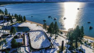 The NHL Outdoor Series In Lake Tahoe Was Beautiful And It Should Be Played Every Year