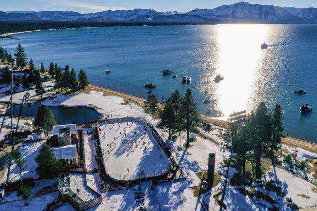NHL Outdoors Lake Tahoe