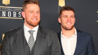TJ Watt Is Openly Recruiting His Brother J.J. Watt To Join The Steelers After He Was Released By Texans