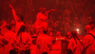 Kanye West Being Sued By 800 People Over Mistreatment At His Sunday Service Shows
