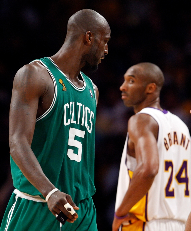Kobe Bryant Issued A Warning To Kevin Garnett While He Celebrated Celtics '08 Title That Ultimately Came True