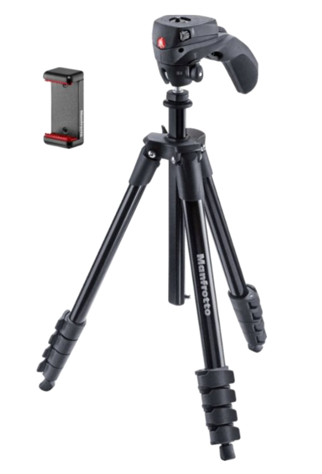 """Manfrotto Compact Action Smart 65"""" Tripod"""