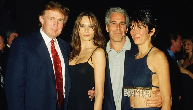 Report Ghislaine Maxwell Epstein Had Secret Tapes Of Trump Clinton