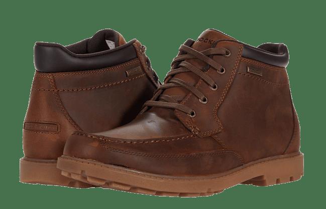 Rockport Patten Waterproof Moc Toe Boots
