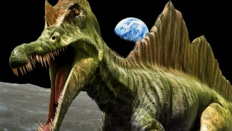 Dinosaur Remains On The Moon? A Couple Of Scientists Think So And Their Theory Isn't That Crazy