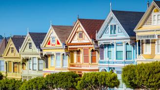 San Francisco Artist Trolls Hundreds With 'Blue-Checkmark Homes'