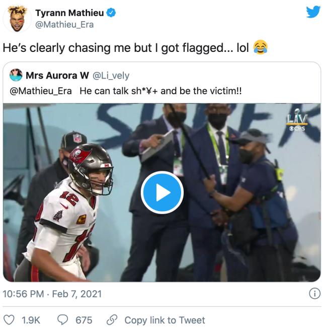 Tyrann Mathieu Tweet