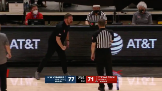 Texas Tech Coach Chris Beard Picked Up An All-Time Ejection After Sitting On The Floor, Going Bananas
