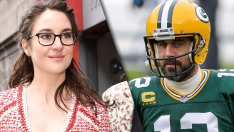 Shailene Woodley Confirms She's Been Engaged To 'Nerd' Aaron Rodgers 'For Awhile'