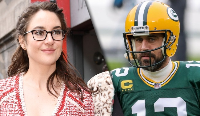 Shailene Woodley Confirms Shes Been Engaged To Packers Aaron Rodgers
