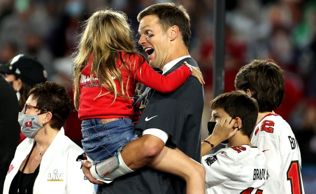Tom Bradys Reaction When He Sees His Kids After Winning Super Bowl LV