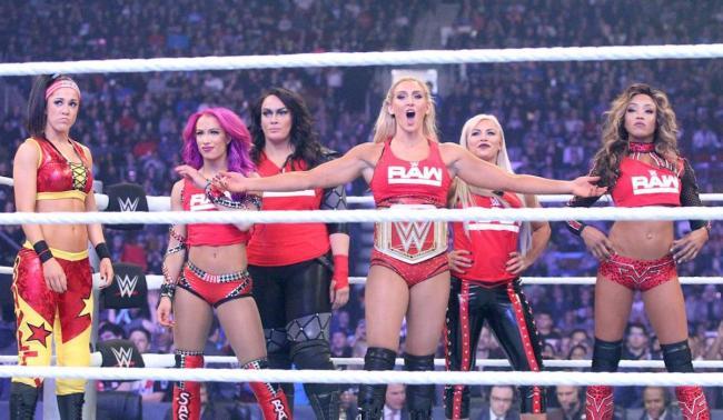 WWE Womens Team Raw