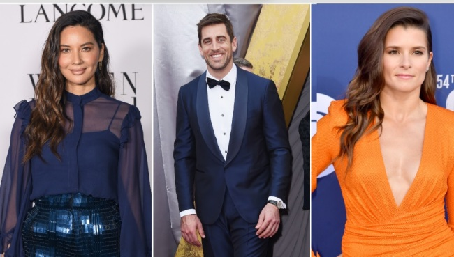 Aaron Rodgers' Exes Danica Patrick And Olivia Munn React To His Surprise Engagement To Shailene Woodley