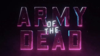 The First Trailer For Zack Snyder's Bonkers 'Army of the Dead' Is Here