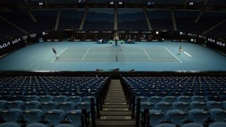 Australian Open Fans Forced To Leave During Djokovic-Fritz Match For Start Of COVID-19 Lockdown