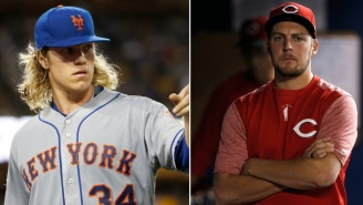 Mets' Noah Syndergaard Takes A Shot At Dodgers' Trevor Bauer And Now They're Both Beefing On Twitter