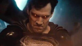 'Snyder Cut' Hype Hits Fever Pitch As New Teaser Shows Black-Suit Superman Unleashing Heat Vision