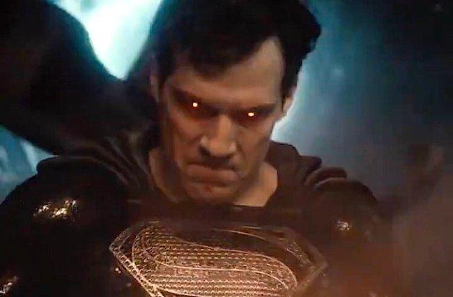black suit superman snyder cut