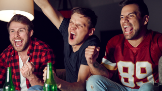 The CDC Is Advising Fans To Avoid Screaming At The Television At Super Bowl Parties This Year