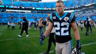 Christian McCaffrey Pushes Back Against Reporter That Claimed He Isn't 'Showing Support' For Teddy Bridgewater