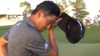 An Emotional Collin Morikawa Thanks Tiger Woods After Winning 2021 WGC-Workday Championship