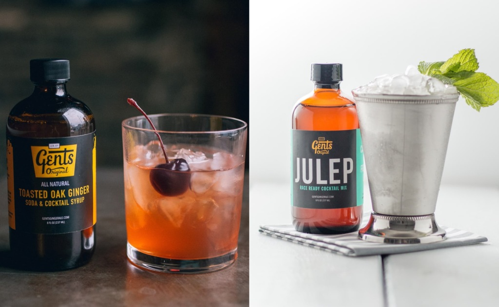 delicious cocktail mixers Gents Original