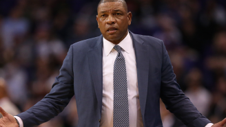Doc Rivers Couldn't Believe A Reporter Asked Him A Question While Laying In Bed