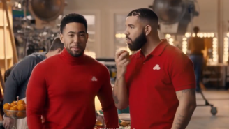 Drake Looked Absolutely Jacked In State Farm's Super Bowl Commercial