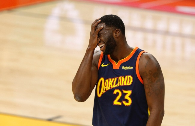 Warriors forward Draymond Green slams the NBA on its double-standard when dealing with star players being traded