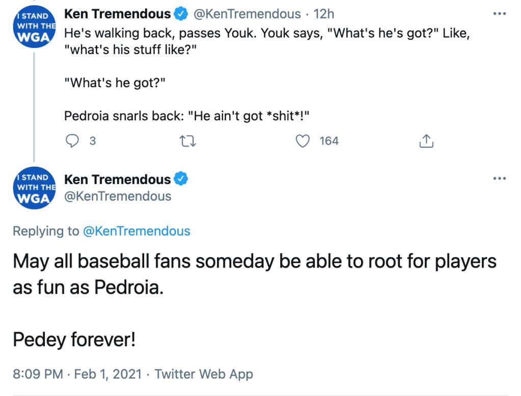 Dustin Pedroia Ken Tremendous minor leagues story