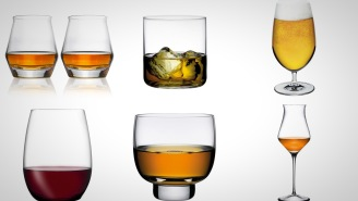 Cheers To Upgrading Your Man Cave With These Whiskey, Wine, And Beer Glasses
