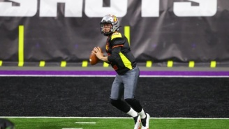 Johnny Manziel Busts Out Electric 45-Yard Run On First Snap In Fan Controlled Football League
