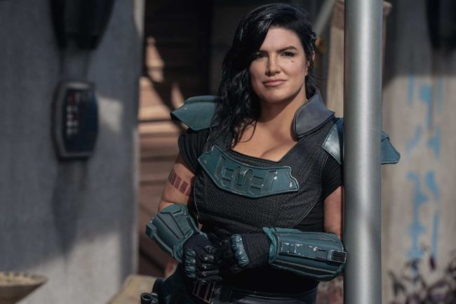 Gina Carano is done