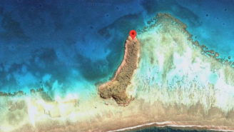 Someone Found An Island On Google Maps Shaped Like 1,600-Foot-Long Dong