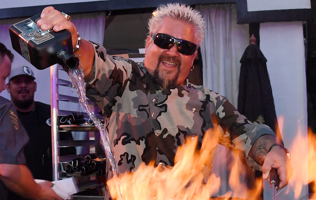 There's One Wild Guy Fieri Story Involving A Stolen Lamborghini You've Probably Never Heard Before