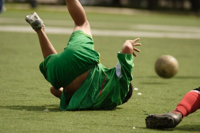 Soccer Flop Foul