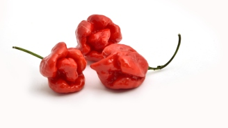 Complete Mad Man Eats 3 Carolina Reaper Peppers In 9.73 Seconds And Sets New World Record