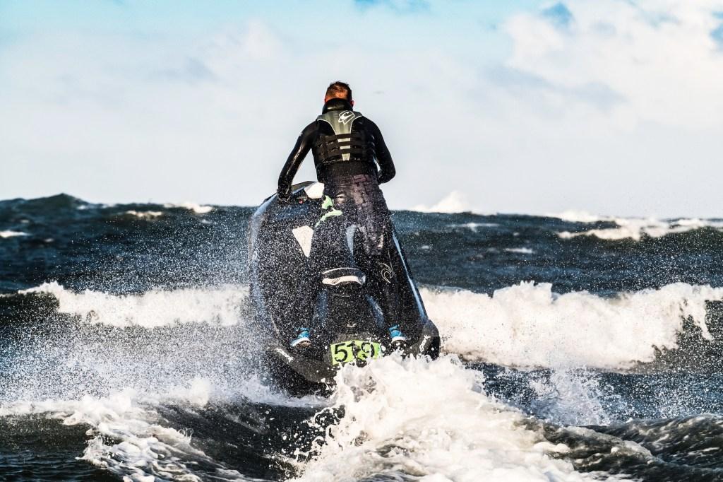 Jet Ski in the North Sea