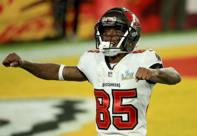 Tampa Bay Buccaneers WR Jaydon Mickens went from living in his car a couple years ago to winning a Super Bowl