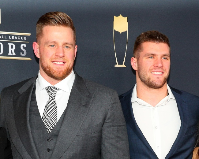 With JJ Watt's free agency this offseason, plenty of people on Twitter had the same joke about the Steelers after seeing his brother TJ Watt shoveling his entrance