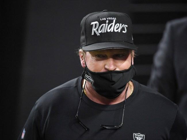 Las Vegas Raiders head coach Jon Gruden blatantly breaks NFL tampering rules to recruit Richard Sherman