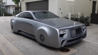 Justin Bieber's One-Of-A-Kind Rolls-Royce From Another Galaxy Customized By 'Pimp My Ride' Shop