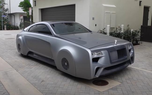Justin Bieber custom Rolls Royce car from Pimp My Ride West Coast Customs.