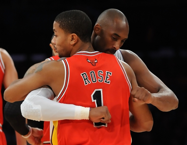 Prior to his tragic death, Kobe Bryant reportedly urged Lakers to trade for Derrick Rose