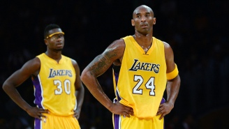 Kobe Bryant Used A+ Scare Tactics During His Final Lakers Game To Convince Julius Randle To Avoid Shooting
